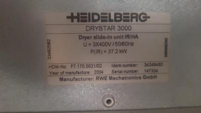 HEIDELBERG CD 102-5 + LX Size 72 x 102