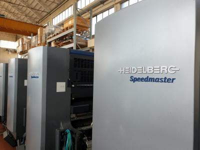 HEIDELBERG SM 102-10-P Size 72 x 102