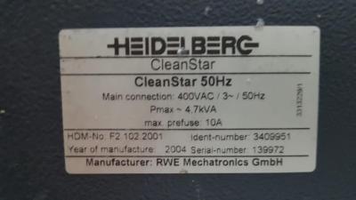 HEIDELBERG CD 102-6+LX Formato 72 x 102